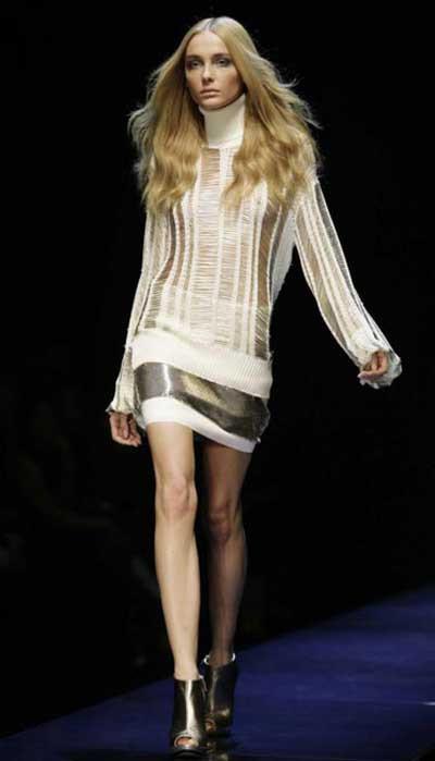 İtalyan modacıdan çene altı tasarımı !