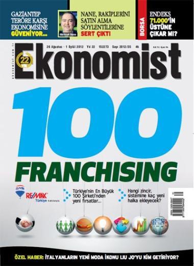 100 Markada Franchising fırsatı !