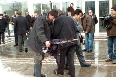 Sivasta AKP-BBP kavgası