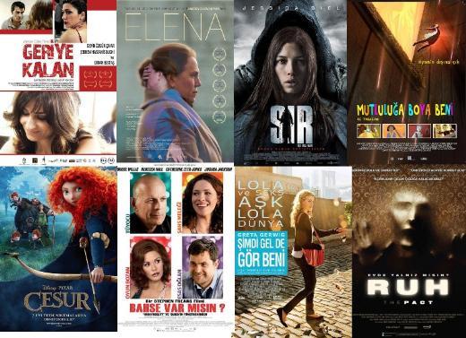 8 yeni film vizyonda !
