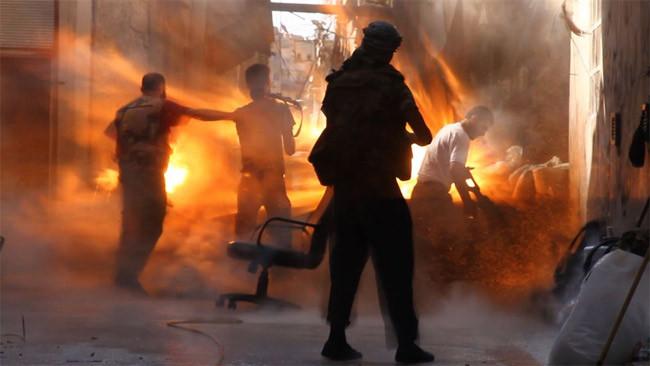 Halepte kare kare ölüm anı