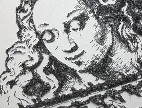 Zımba telinden sanat