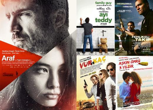 5 yeni film vizyonda !