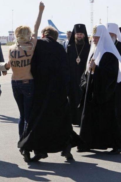 Dünden bugüne FEMEN protestoları