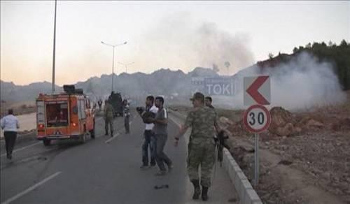 Tuncelide bombalı saldırı