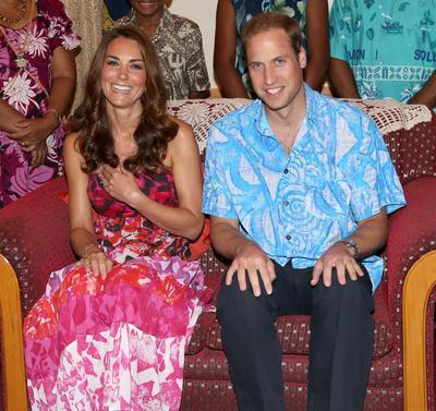 Kate ve Williamın kıyafet gafı