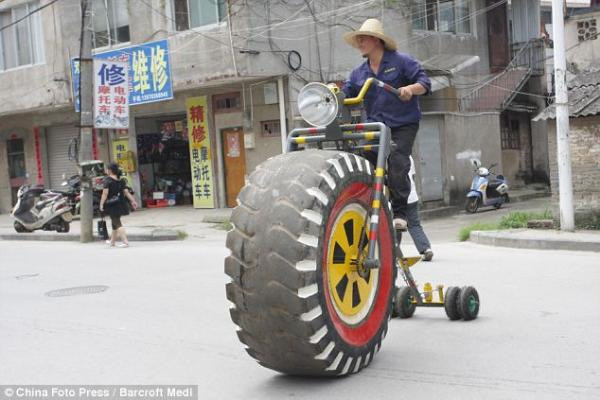 Bu nasıl bisiklet!
