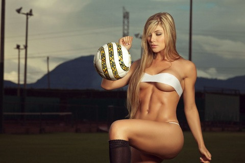 Futbola aşık!