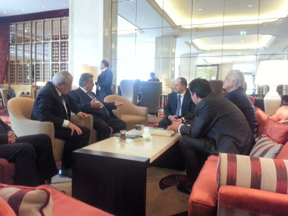 Barzani bir dizi görüşme yaptı