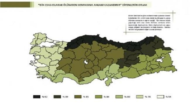 Bahçeşehir Üniversitesinin Türkiye değerler atlası