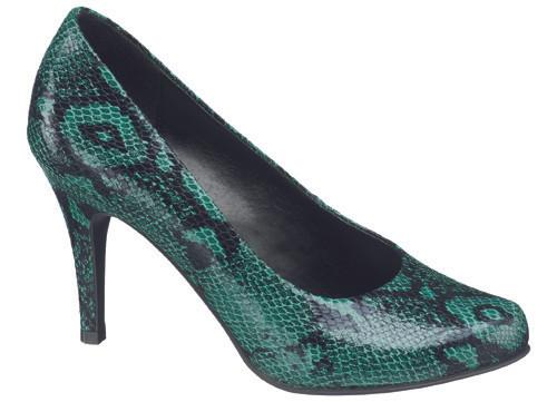 Sezon trendi piton derili ayakkabılar DEICHMANN'da...