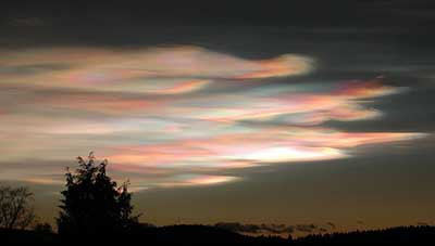 Gökyüzündeki şaşırtan bulutlar