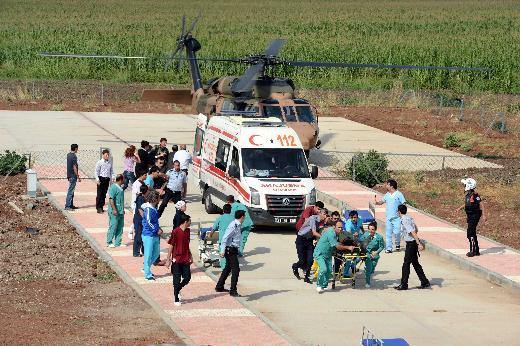 Diyarbakırda helikopter kazası!