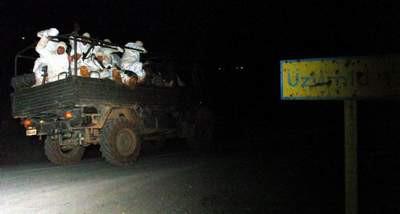 Kuzey Iraktan dönen ilk askeri birlik