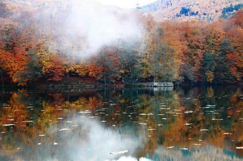 Saklı cennette sonbahar