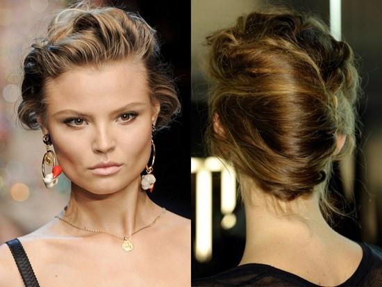 Saçlarınızın boyuna göre model verin!