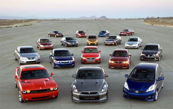 En cimri benzinli 9 otomobil