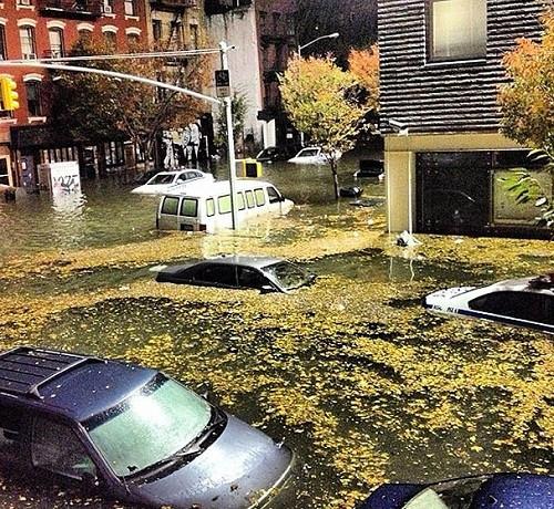 New York sular altında !
