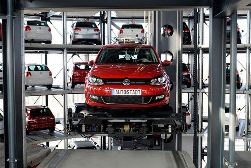 Volkswagenin otomobil kulesi