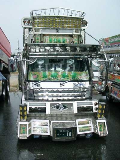 Bunlar da modifiye kamyonlar