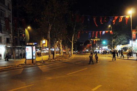 Taksim Meydanı trafiğe kapandı