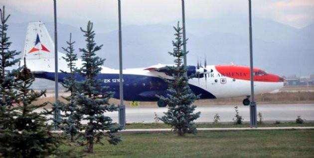 Ermenistan uçağı yine Erzuruma indirildi