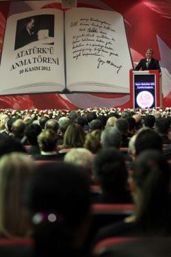 Ankarada Atatürkü anma töreni