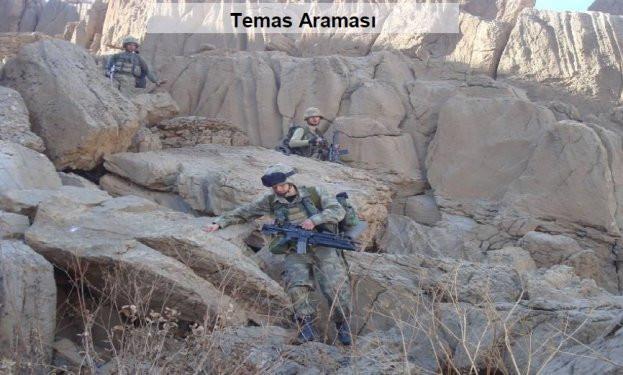 TSK Hakkari operasyonun fotoğraflarını yayınladı