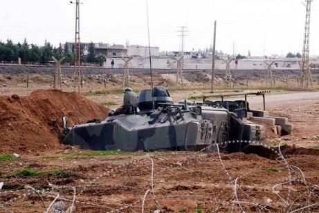 Suriye sınırında büyük hazırlık