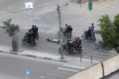 Hamas İsrail ajanını böyle infaz etti
