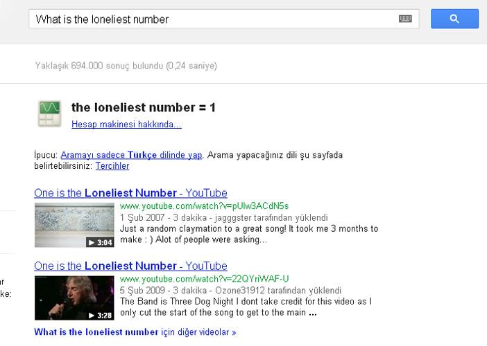 Googlea bunu yazın bakın ne oluyor?