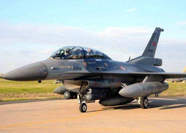 Komutan F-16da!