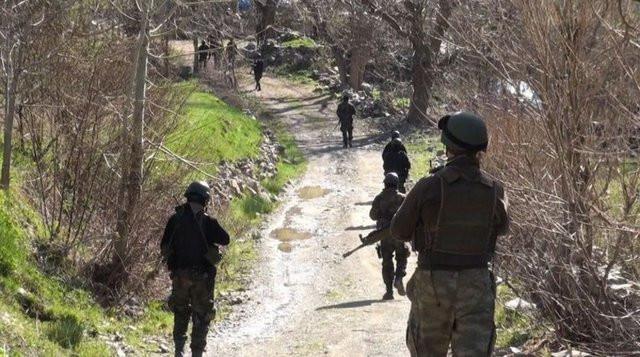 7 PKKlı inlerinden çıkamadı