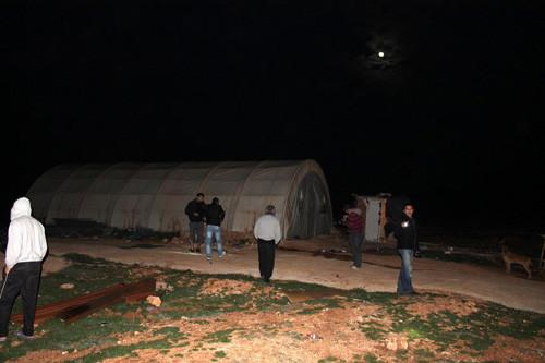 TOKİ inşaatı yanına tank mermisi
