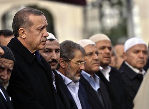 Erdoğan, Said Nursinin talebesini uğurladı