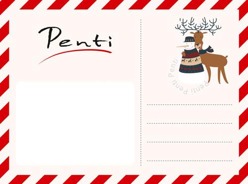 Yılbaşında Penti'den mektup var!