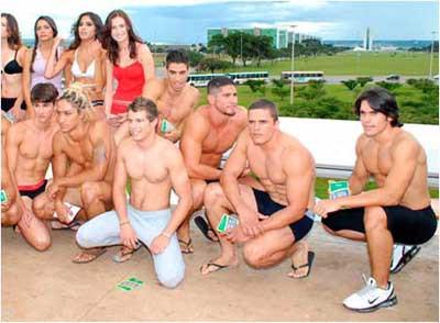 Brezilyada iç çamaşırı günü