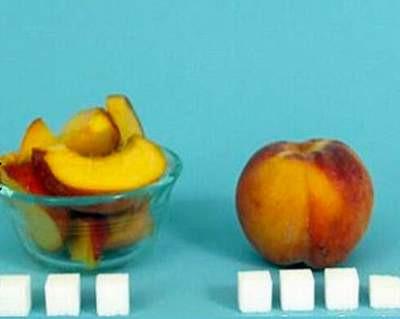 Yiyeceklerdeki şeker miktarı