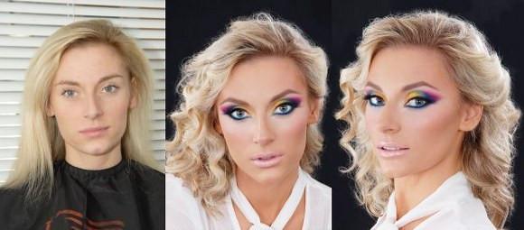 Makyajın inanılmaz etkisi