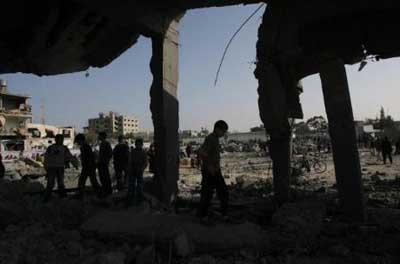 Gazze kan gölüne döndü