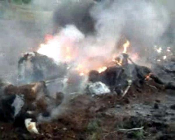 Antalyada ilaçlama uçağı düştü