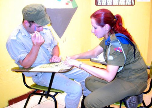 Onlar İsrailin kadın askerleri