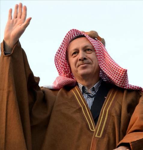 Erdoğan Şanlıurfada aba giydi