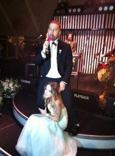 Athena Gökhanın düğününden çok özel anlar