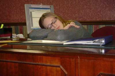 İş başında uyku mesaisi