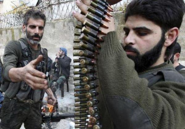 Halepten tüyler ürperten çatışma görüntüleri