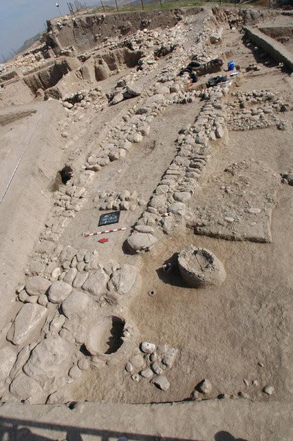 4 bin yıllık sokak bulundu