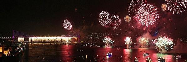 İşte Türkiyeden yeni yıl manzaraları