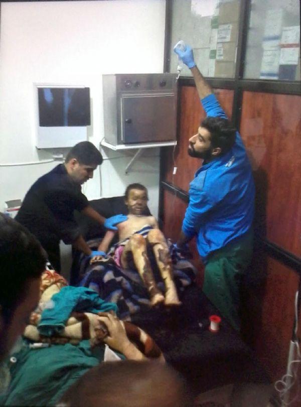 Çadırda yangın: 4 çocuk öldü!