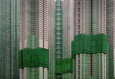 Hong Kongda balık istifi mahallesi